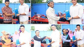 Primus Menyerahkan Bantuan Hand Tractor Kepada Masyarakat  Jasinga